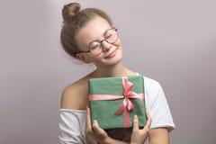 подарок на рождество годовщина присутствующая сумасбродный подарок стоковая фотография rf