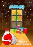 подарок на рождество 2008 Стоковые Изображения RF