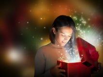 подарок на рождество Стоковая Фотография