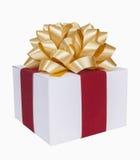 Подарок на рождество Стоковое Изображение