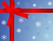 подарок на рождество иллюстрация вектора