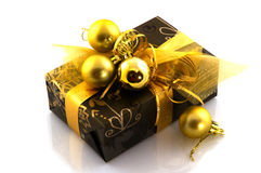подарок на рождество стоковые фото