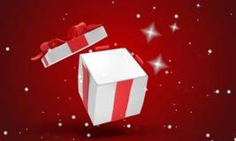 Подарок на рождество 3d-illustration бесплатная иллюстрация