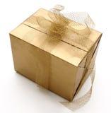подарок одиночный стоковое изображение rf