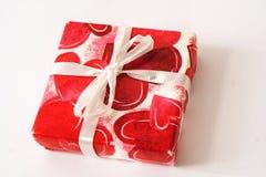 Подарок от сердца стоковое изображение rf
