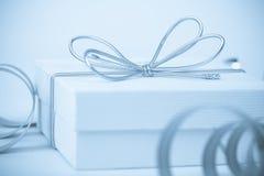подарок предпосылки праздничный Стоковое Фото