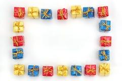 подарок рамки Стоковые Фото