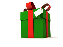 подарок рождества большой Стоковые Изображения