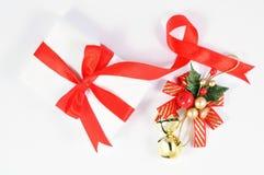 подарок рождества колокола стоковая фотография
