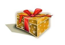 подарок рождества коробки Стоковое Изображение