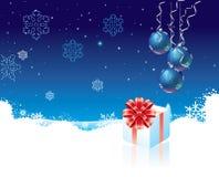 подарок рождества коробки Стоковая Фотография