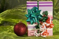 подарок рождества коробки Стоковые Фото