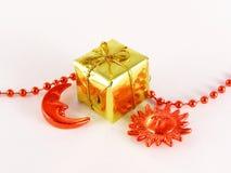 подарок рождества малый Стоковая Фотография