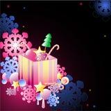 подарок рождества предпосылки Иллюстрация штока