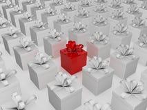 подарок рождества различный Стоковое Изображение