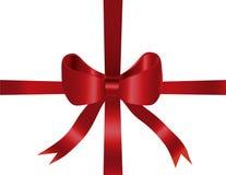 подарок рождества смычка предпосылки Стоковые Изображения