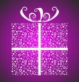 подарок рождества стильный Стоковые Изображения RF