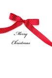 Подарок рождества - с Рождеством Христовым Стоковые Изображения RF