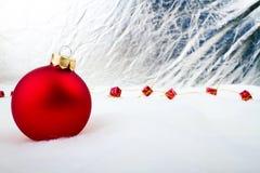 Подарок рождества - с Рождеством Христовым Стоковая Фотография RF