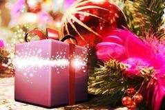 подарок рождества иллюстрация штока