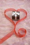 подарок романтичный Стоковое Фото