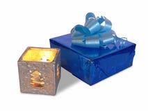 подарок свечки Стоковая Фотография