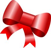 подарок смычка Стоковые Фотографии RF