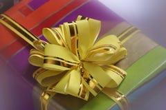 подарок смычка Стоковое Фото