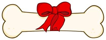 подарок собаки косточки иллюстрация штока
