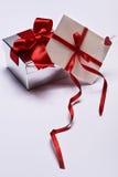 Подарок с габаритом стоковые изображения rf