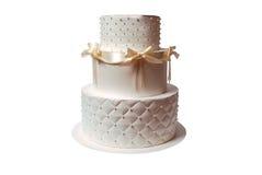подарок формы торта коробки Стоковые Фотографии RF