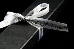 подарок черного ящика Стоковые Фото