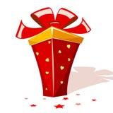 подарок шаржа Стоковая Фотография RF