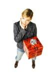 подарок 2 дает стоковое фото rf