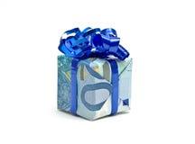 подарок 20 евро Стоковое фото RF