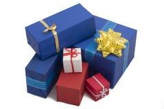 подарок 21 коробки Стоковое фото RF