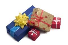 подарок 37 коробок Стоковая Фотография