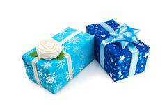 Подарок box-21 Стоковые Фотографии RF