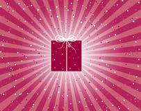 подарок burgundy иллюстрация вектора