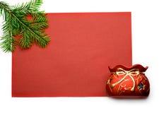 подарок firtree Стоковые Изображения RF
