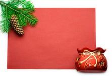 подарок firtree Стоковое Изображение RF