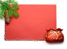 подарок firtree Стоковая Фотография RF