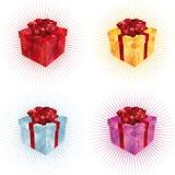 подарок i коробки Стоковое фото RF
