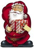 подарок santa карточки иллюстрация штока