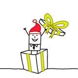 подарок santa иллюстрация вектора