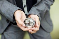 Податель кольца стоковое изображение