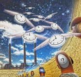 Подача времени бесплатная иллюстрация