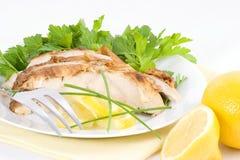 подача лимона цыпленка холодная Стоковое Изображение RF