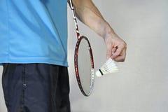 подача badminton Стоковое Фото