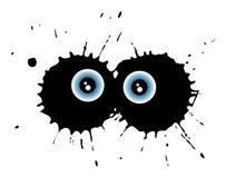 подбитый глаз Стоковая Фотография